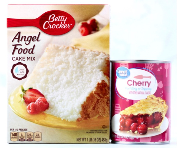 Easy Cherry Angel Food Cake Recipe