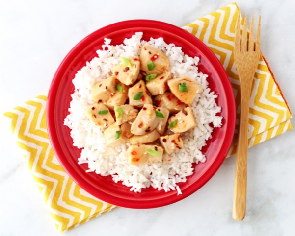 Crockpot Sweet Chili Chicken