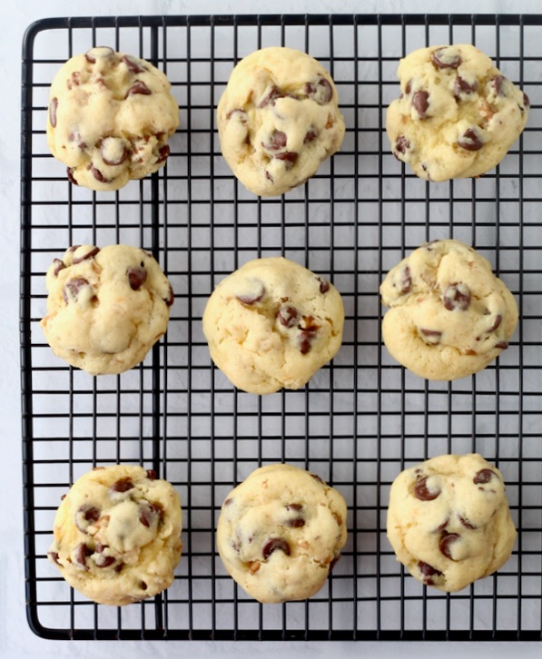 Easy Walnut Chocolate Chip Cookies Recipe