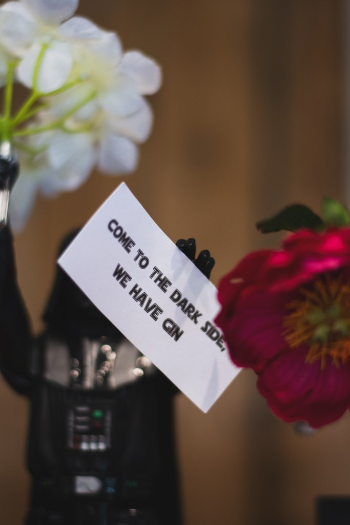fun star wars wedding decoration