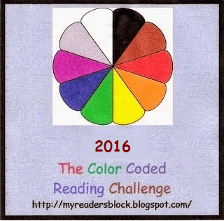 The 2016 Color Coded Reading Challenge (1/2)