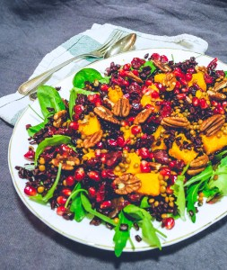 Butternut Squash & Black Rice Salad
