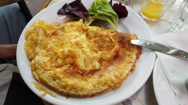Parisian omelette
