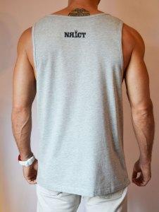TB0365 Camiseta de tirantes algodón gris trasera