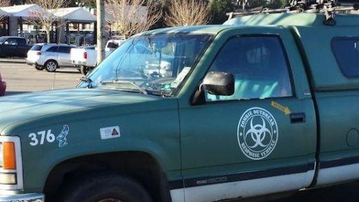 Zombie incident response truck