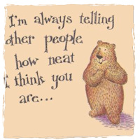 Secret Admirer Bear