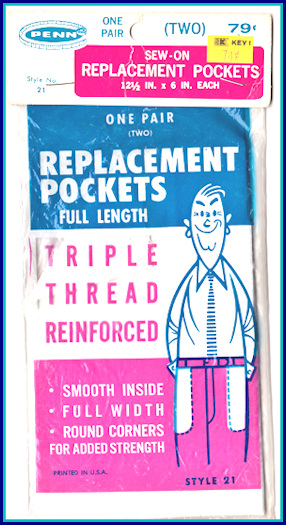 retro replacement pockets