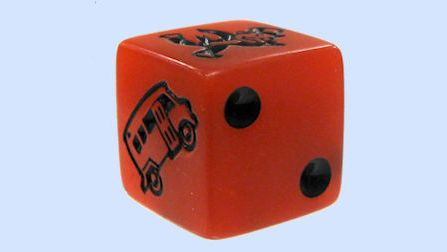 Speed dice for Monopoly