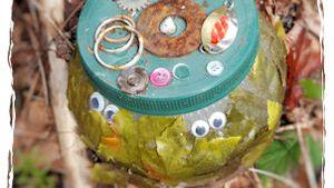 Decorative jar geocache