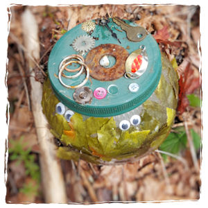 Decorative jar geocache
