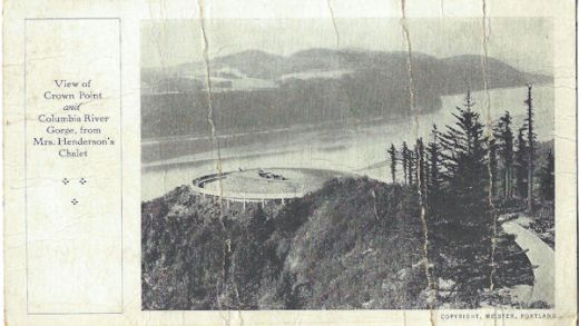 Crown Point Chalet of the 1920's
