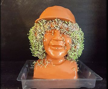 Dustin from Stranger Things Chia Pet