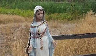 Virgin Mary broken but not defeated