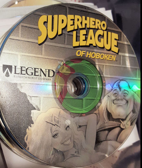 The CD to play Superhero League of Hoboken.