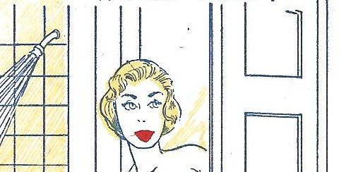 Risque wallet cards of the 1950's