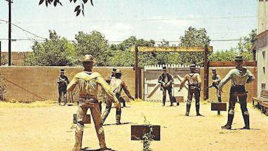 Tombstone Az shootout postcard