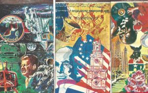 Bicentennial matchbooks Happy Birthday America