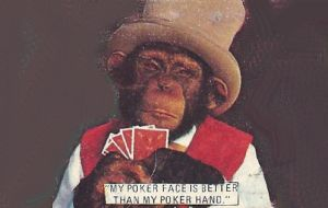 The Hair Forum can't resist the funny monkey matchbooks.