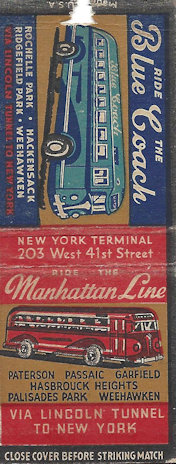 Public Transit buses competing on a single matchbook