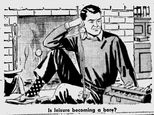Is leisure becoming a bore? Mirror of Your Mind article 1964