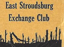 Matchbook- Looks like the East Stroudsburg exchange club burned down.