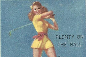 Esquire restaurant lady golfer