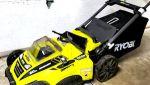 "Ryobi 20"" cordless mower"