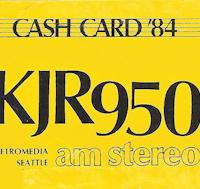 KJR cash card 1984