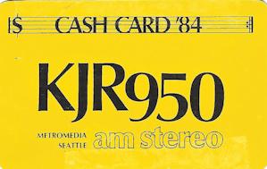 KJR Cash Card