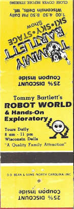 Matchbook for ROBOT WORLD