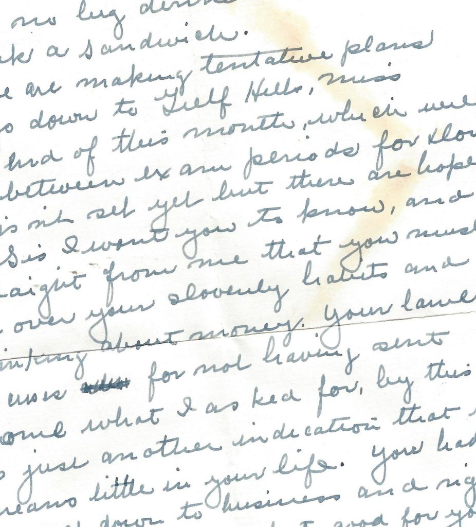 1939 letter from home