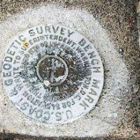 Marysville Opera House Survey Marker