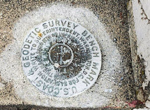 Marysville Opera House Survey Marker