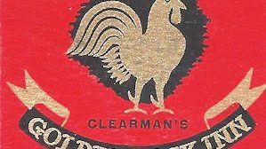 Golden Cock Inn Matchbook