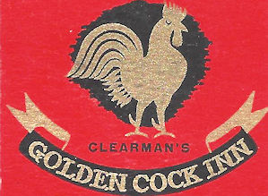 Golden Cock Inn Matchbook