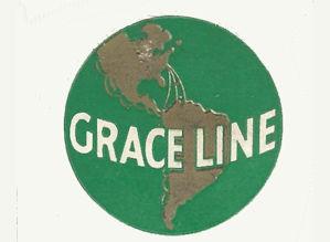 Grace Line Cruise Ship logo