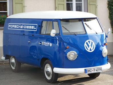 1960 Porsche-Diesel VW van