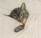 Chessie, The Chesapeake and Ohio mascot kitten.