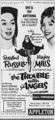 The Trouble With Angels movie ad