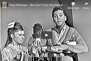 Paul Peterson She Cant find her keys
