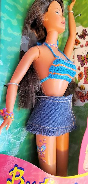 Barbie's tattooed frenemy Teresa doll is a bad influence.