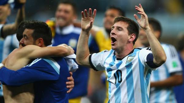 Fifa World Cup Brazil Finals : Argentina and Germany ...