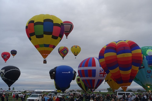 2015 Balloon Festival Albuquerque, New Mexico combined with emergency surgery.