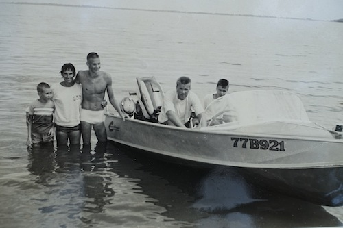 Swim across Spirit Lake 59 years after his first swim in 1957