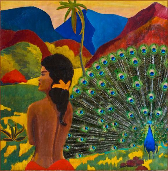 gauguin-peacock