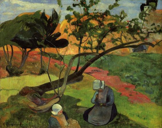 landscape-with-two-breton-women-1889
