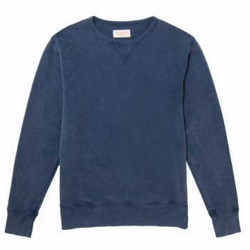 Hawskmill-Garment Dyed Sweat