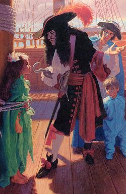 Bildresultat för captain hook peter pan