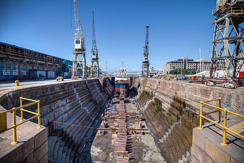 Dry dock, Cape Town
