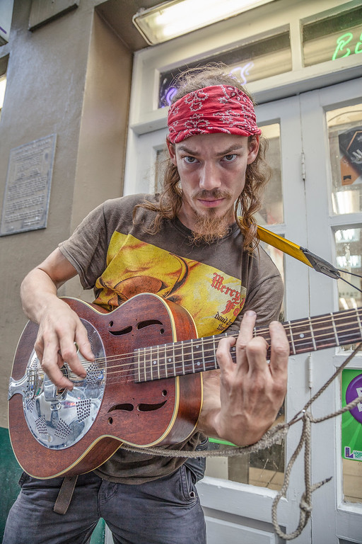 Two-named guitarist, NOLA